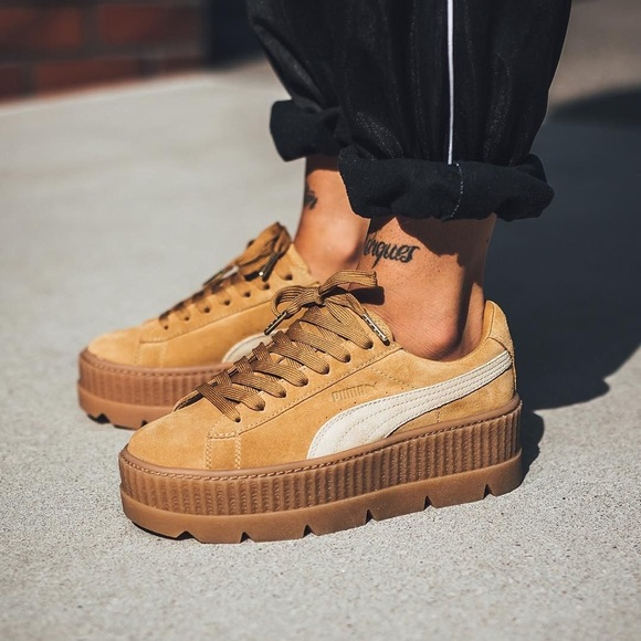 puma suede cleated
